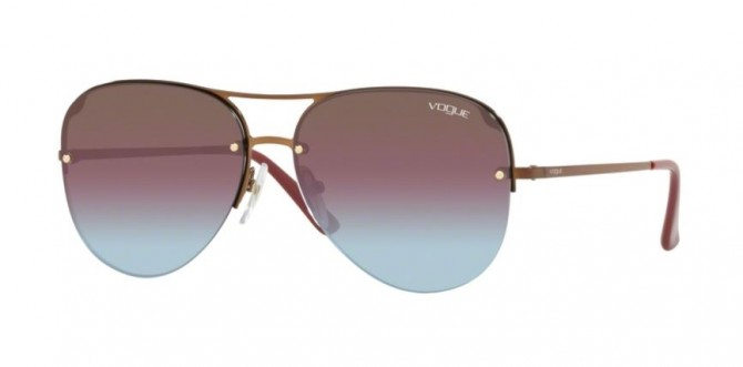Vogue 0VO4080S 5074H7 Copper - Azure Grad Pink Grad Brn Mirr Red