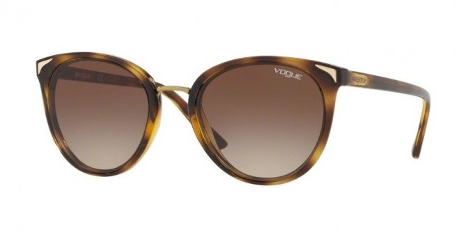 Vogue 0VO5230S W65613 Dark Havana - Brown Gradient
