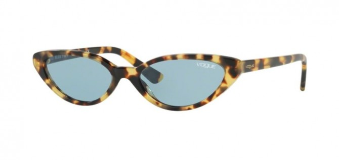 Vogue 0VO5237S 260580 Brown Yellow Tortoise - Blue