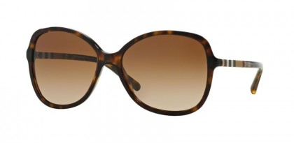 Burberry 0BE4197 300213 Dark Havana - Brown Gradient