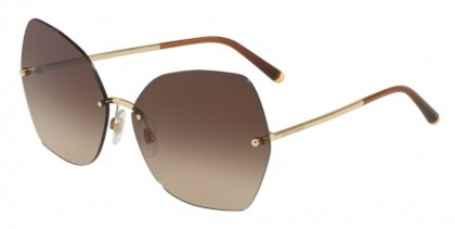 Dolce & Gabbana 0DG2204 02/13 Gold - Brown Gradient