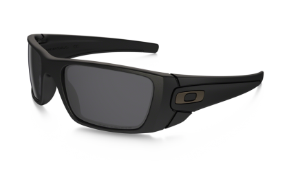 Oakley Polarized Fuel Cell 9096-05 Matte Black / Gray Polarized