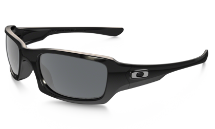 Oakley Polarized Fives Squared 9238-06 Polished Black / Black Iridium Polarized