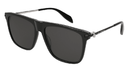 Alexander McQueen AM0106S-001 Black - Gradient Grey