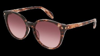 Alexander McQueen AM0130S-004 Havana - Brown Violet