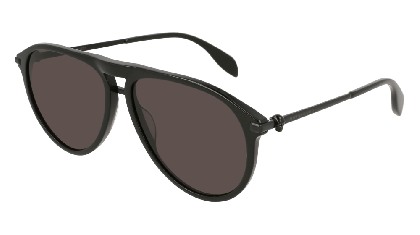 Alexander McQueen AM0134S-001 Black - Gradient Grey