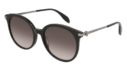 Alexander McQueen AM0135S-001 Black Ruthenium - Gradient Grey