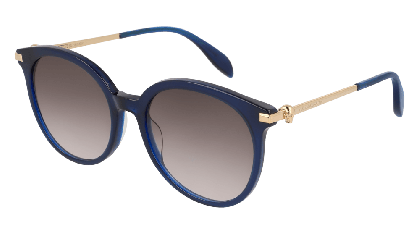 Alexander McQueen AM0135S-005 Blue Gold - Gradient Grey