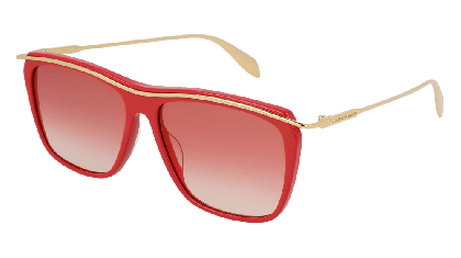 Alexander McQueen AM0143S-005 Red Gold - Gold Red