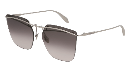 Alexander McQueen AM0144S-003 Ruthenium - Light Grey