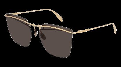 Alexander McQueen AM0144S-004 Gold - Gradient Grey