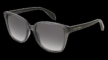 Alexander McQueen AM0145S-001 Transparent Grey Black - Grey