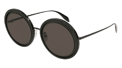 Alexander McQueen AM0150S-001 Black - Black Grey