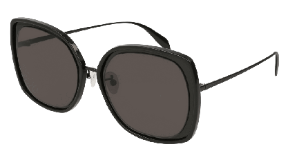 Alexander McQueen AM0151S-001 Black - Black Grey