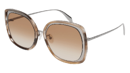 Alexander McQueen AM0151S-004 Ruthenium - Brown Brown