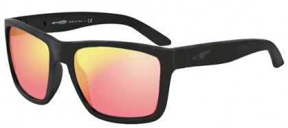 Arnette 0AN4177 WITCH DOCTOR 447/6Q Fuzzy Black - Red Multilayer