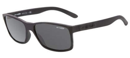 Arnette 0AN4185 SLICKSTER 447/87 Black Rubber - Gray