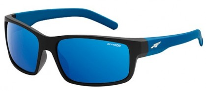 Arnette 0AN4202 FASTBALL 2268/55 Fuzzy Black - Blue Mirror Blue