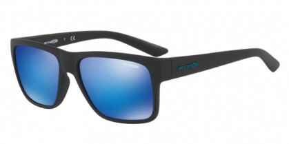 Arnette 0AN4226 RESERVE 0125 Matte Black - Green Mirror Light Blue