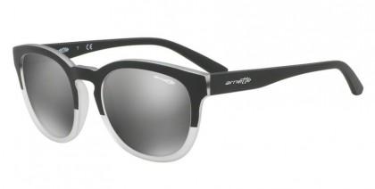 Arnette 0AN4230 CUT BACK 24206G Matte Black Matte Crystal - Grey Mirror Silver