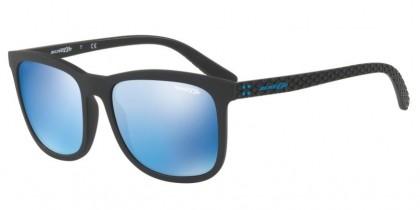 Arnette 0AN4240 CHENGA 01/55 Matte Black - Blue Mirror Blue
