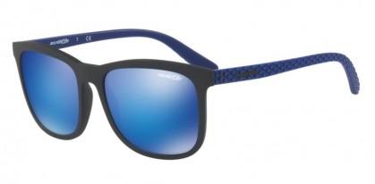Arnette 0AN4240 CHENGA 251125 Matte Black - Green Mirror Light Blue