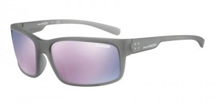 Arnette 0AN4242 FASTBALL 2.0 24235R Matte Transparent Grey - Dark Grey Mirror Pink