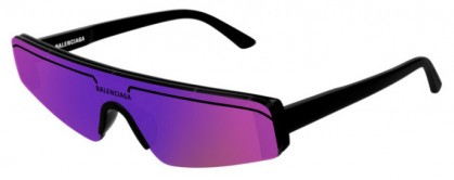 Balenciaga BB0003S-003 Black - Violet