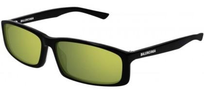Balenciaga BB0008S-006 Black - Yellow