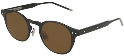 Bottega Veneta BV0180S-001 Black - Shiny Brown