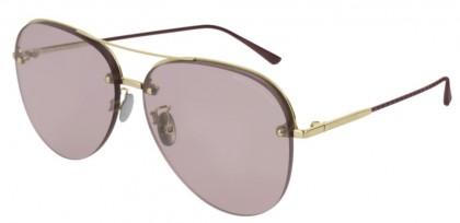 Bottega Veneta BV0206S-004 Gold Burgundy - Pink