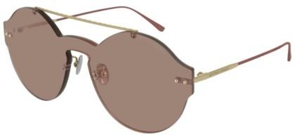 Bottega Veneta BV0207S-004 Gold Pink - Pink
