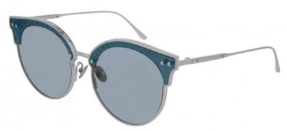 Bottega Veneta BV0210S-002 Silver  - Blue