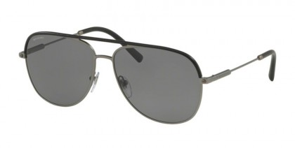 Bvlgari 0BV5047Q 195/81 Black Matte Gunmetal - Polar Grey