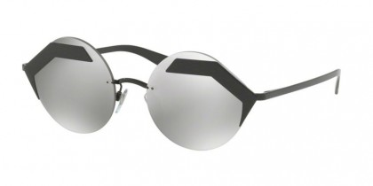 Bulgari 0BV6089 128/6G Black Matte Black - Light Grey Mirror Silver