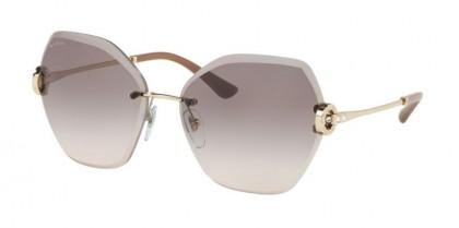 Bvlgari 0BV6105B 278/3B Pale Gold - Pink Gradient Grey