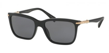 Bulgari 0BV7028K 528581 Black - Grey Polarized