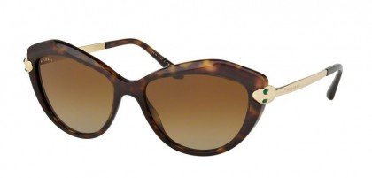 Bulgari 0BV8186KB 5193T5 Dark Havana - Brown Gradient Polarized