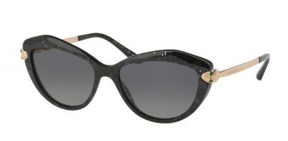 Bulgari 0BV8186KB 5412T3 Black - Grey Gradient Polarized
