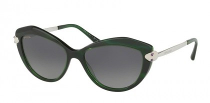 Bulgari 0BV8186KB 827T3 Green - Grey Gradient Polarized
