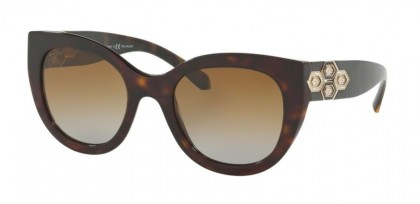 Bvlgari 0BV8214B 504/T5 Dark Havana - Polar Brown Gradient