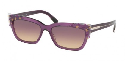 Bvlgari 0BV8219 545970 Gold/Lilac Transparent Violet - Yellow Gradient Violet