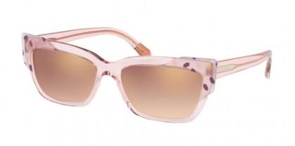 Bvlgari 0BV8219 54626F Gold/Violet Transparent Pink - Gradient Pink Mirror Pink