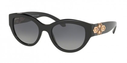 Bvlgari 0BV8221B 501/T3 Black - Polar Grey Gradient