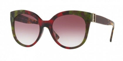 Burberry 0BE4243 36388H Havana Green Bordeaux Green - Violet Gradient
