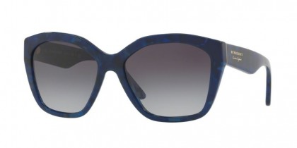 Burberry 0BE4261 36868G Blue Havana - Grey Gradient