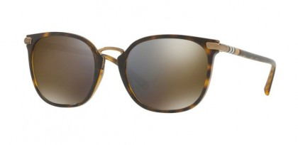 Burberry 0BE4262 30024T Dark Havana - Dark Grey Mirror Gold