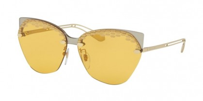 Bvlgari 0BV6107 204985 Taupe Transparent - Yellow