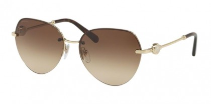Bvlgari 0BV6108 278/13 Pale Gold - Brown Gradient