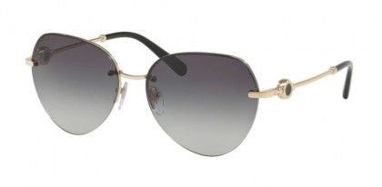 Bvlgari 0BV6108 278/8G Pale Gold - Grey Gradient
